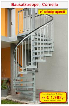 Bausatztreppe Cornelia