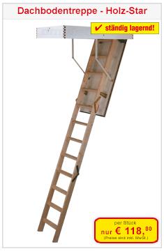 Dachbodentreppe Holzstar
