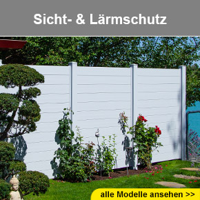 Zaun, Gartenzaun, Aluzaun, Sichtschutz beim Zaunspezialist ...