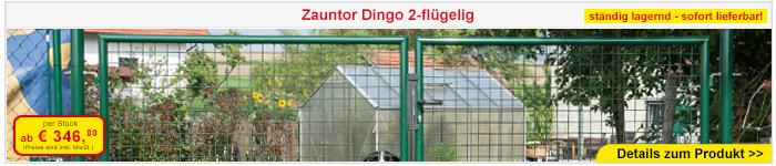 Zauntor Dingo 2-flügelig