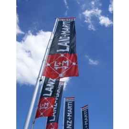 Kurbel Ausleger Mast aus Alu Mod. AFM 7