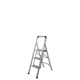 Alu Klapptritt Mod. KLT - Stufenanzahl: 3, Standhöhe: 72 cm