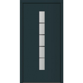 Alu-Kunststoff Haustür Fortuna - 1100 x 2100 mm (B x H)