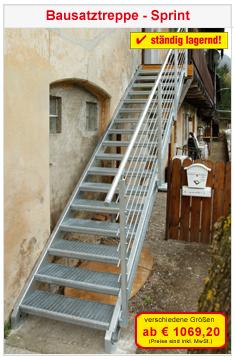 Bausatztreppe Sprint