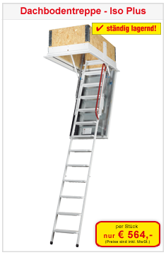 Dachbodentreppe Isoplus
