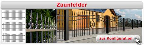 Zaunfelder konfigurieren